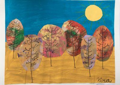 """The Artist's Trees"""